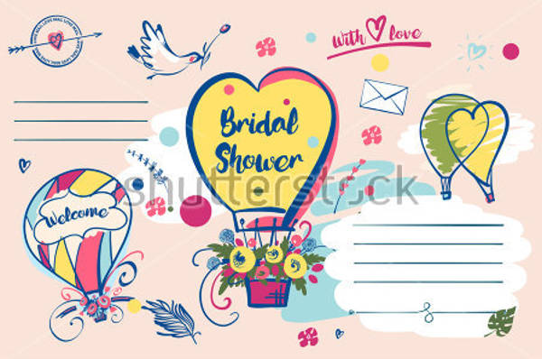 blank bridal shower banner example1