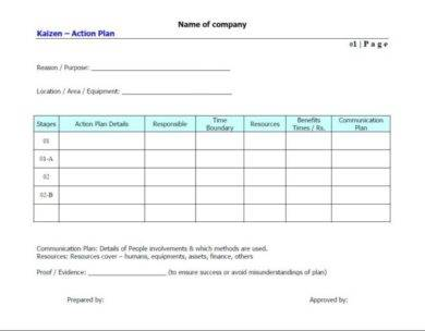 blank business action plan example1