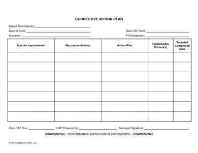 blank corrective action plan example1