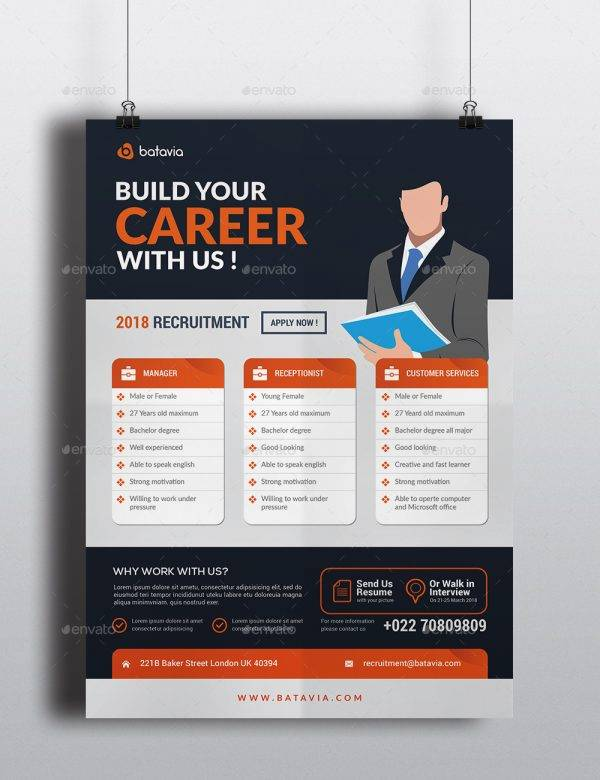 build your career job announcement example1