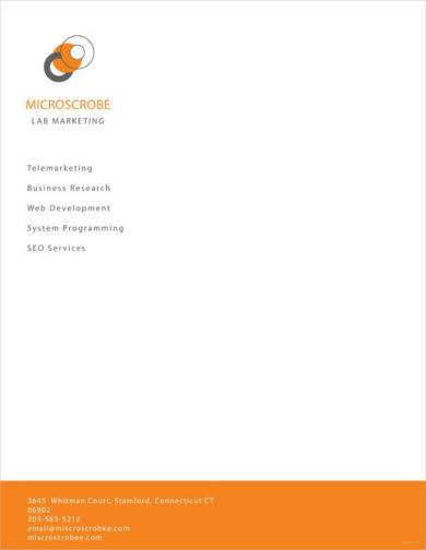 business letterhead example1