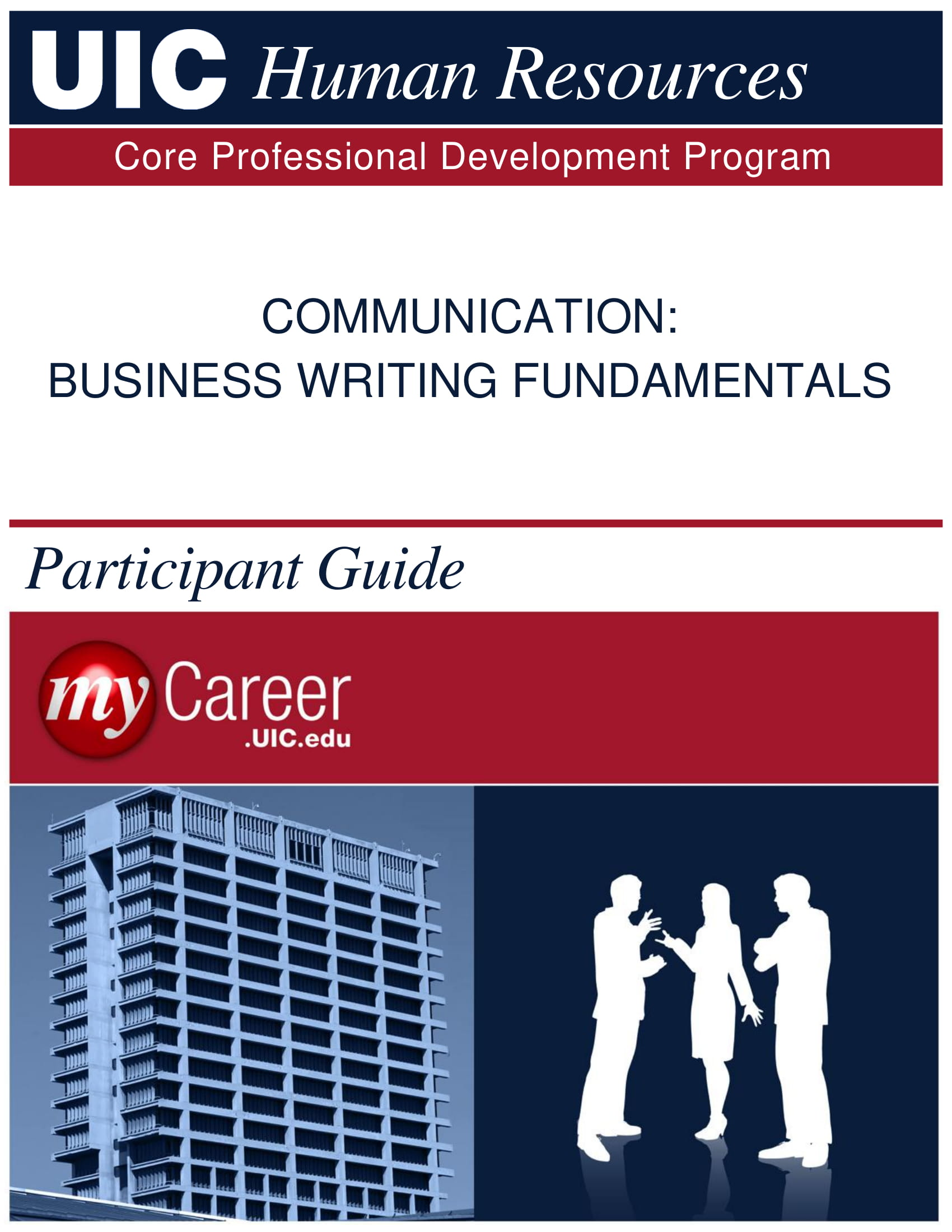 business writing fundamentals example