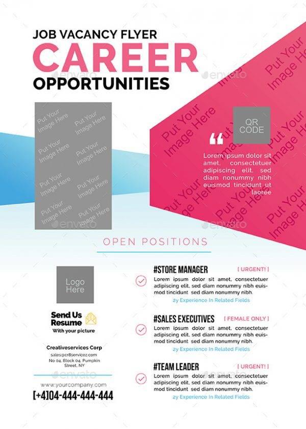 career job announcement example1