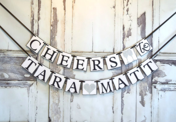 cheers bridal shower banner example