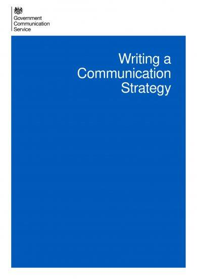 communication strategy plan writing example