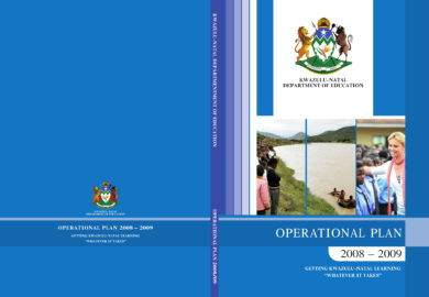 comprehensive operational plan example