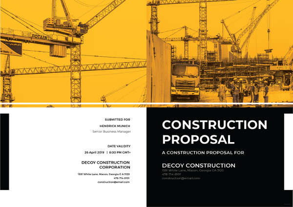 11 construction proposal examples pdf doc psd ai