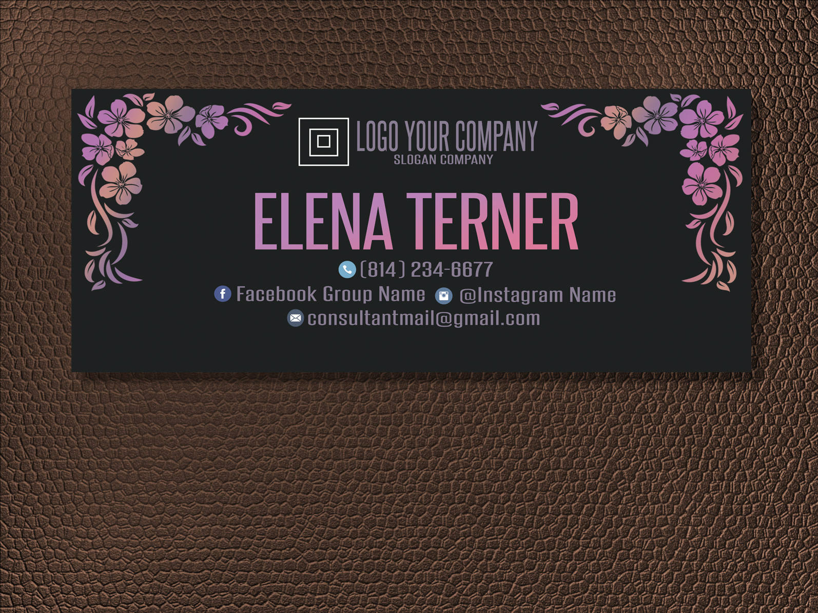 consultant business banner example
