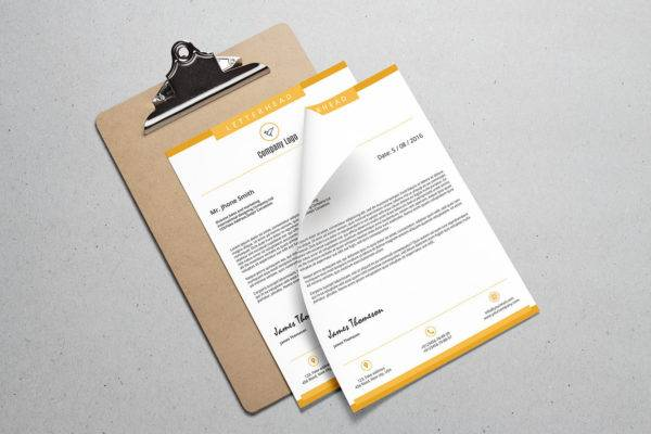 corporate business letterhead example1