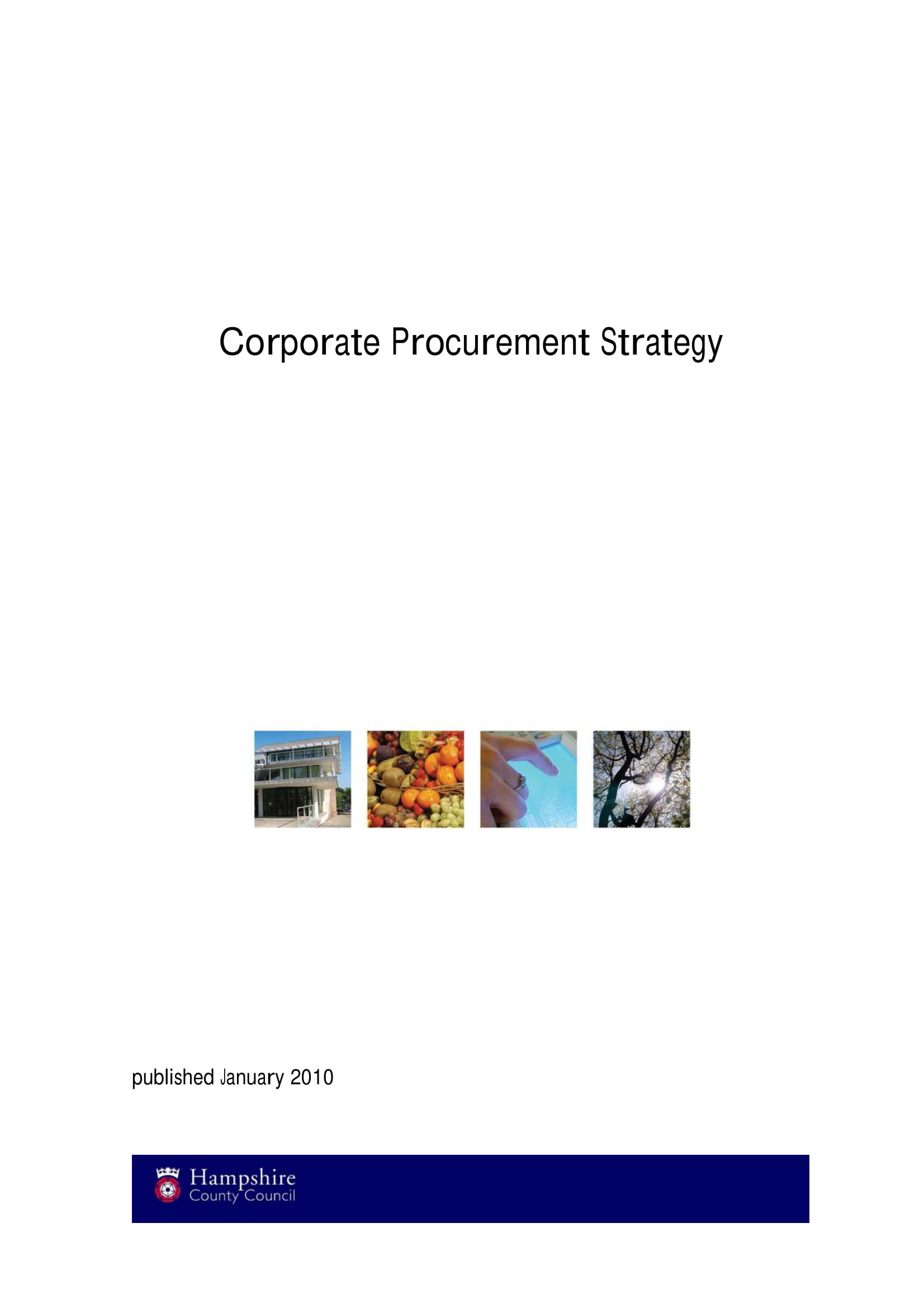 corporate procurement strategy and planning example 01