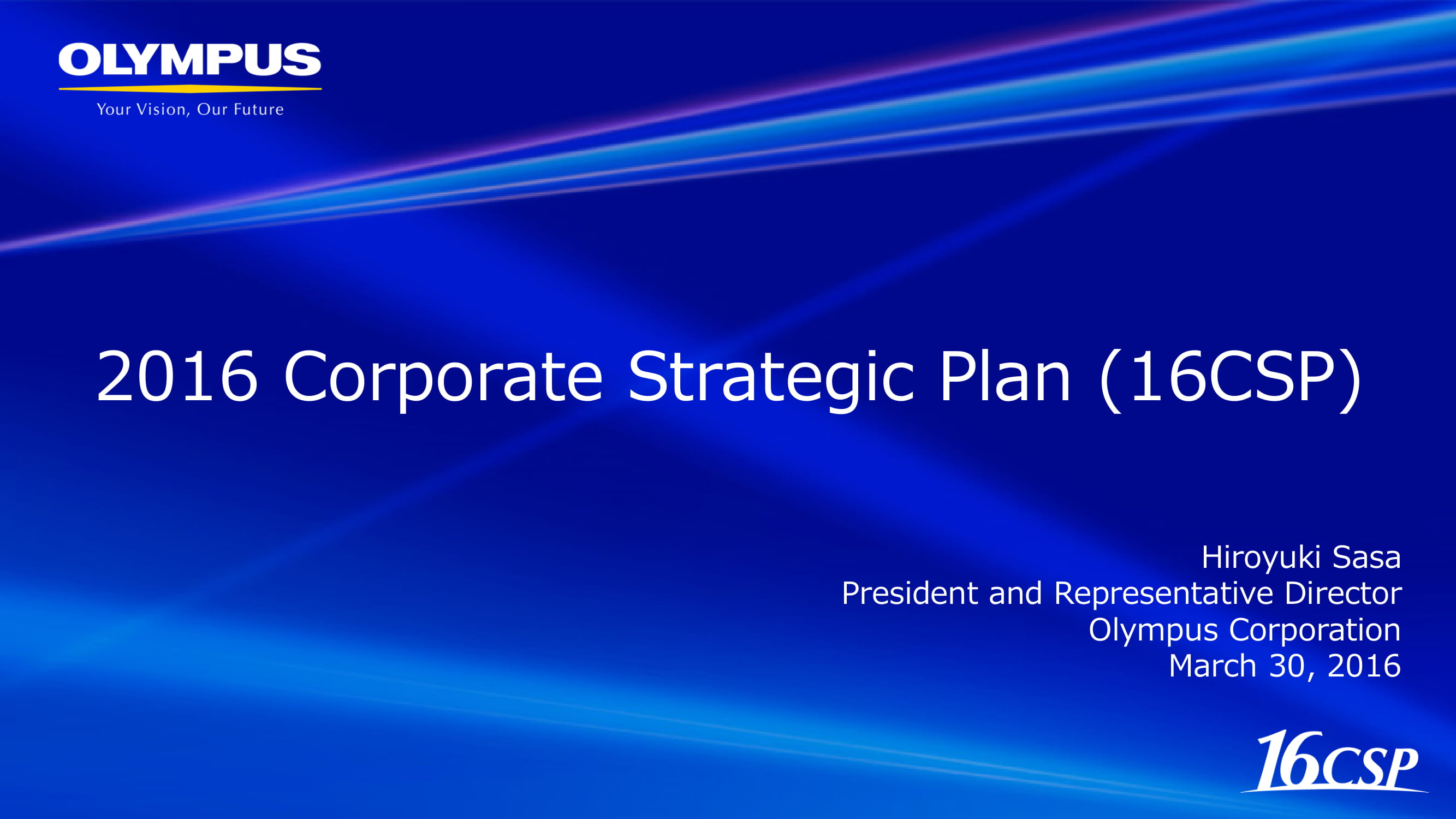 corporate strategic plan for business development example 01