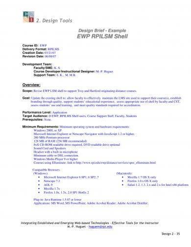 14+ Design Brief Template Examples - PDF