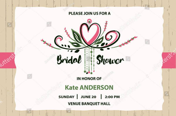 detailed bridal shower banner example1