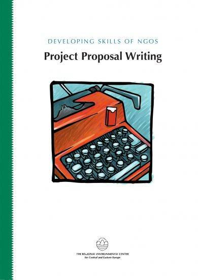 developing skills of ngos in project proposal writing example