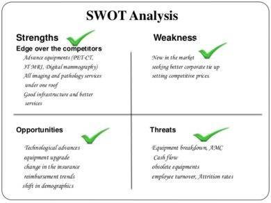 diagnostic center hospital swot analysis example1