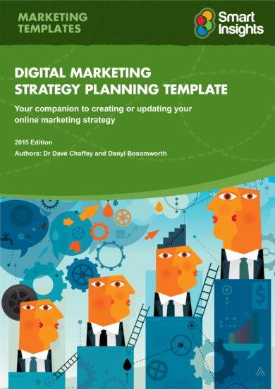digital marketing strategy plan template example