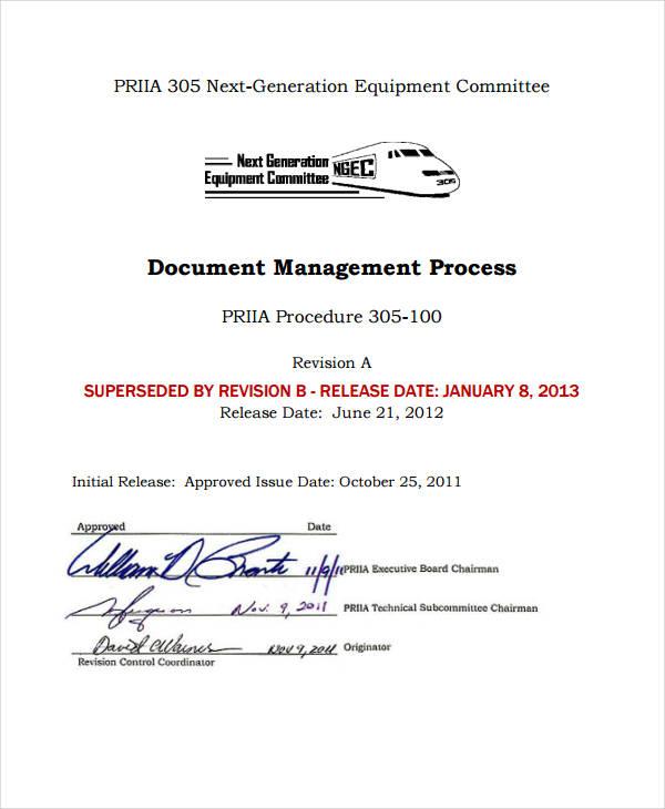 document management process