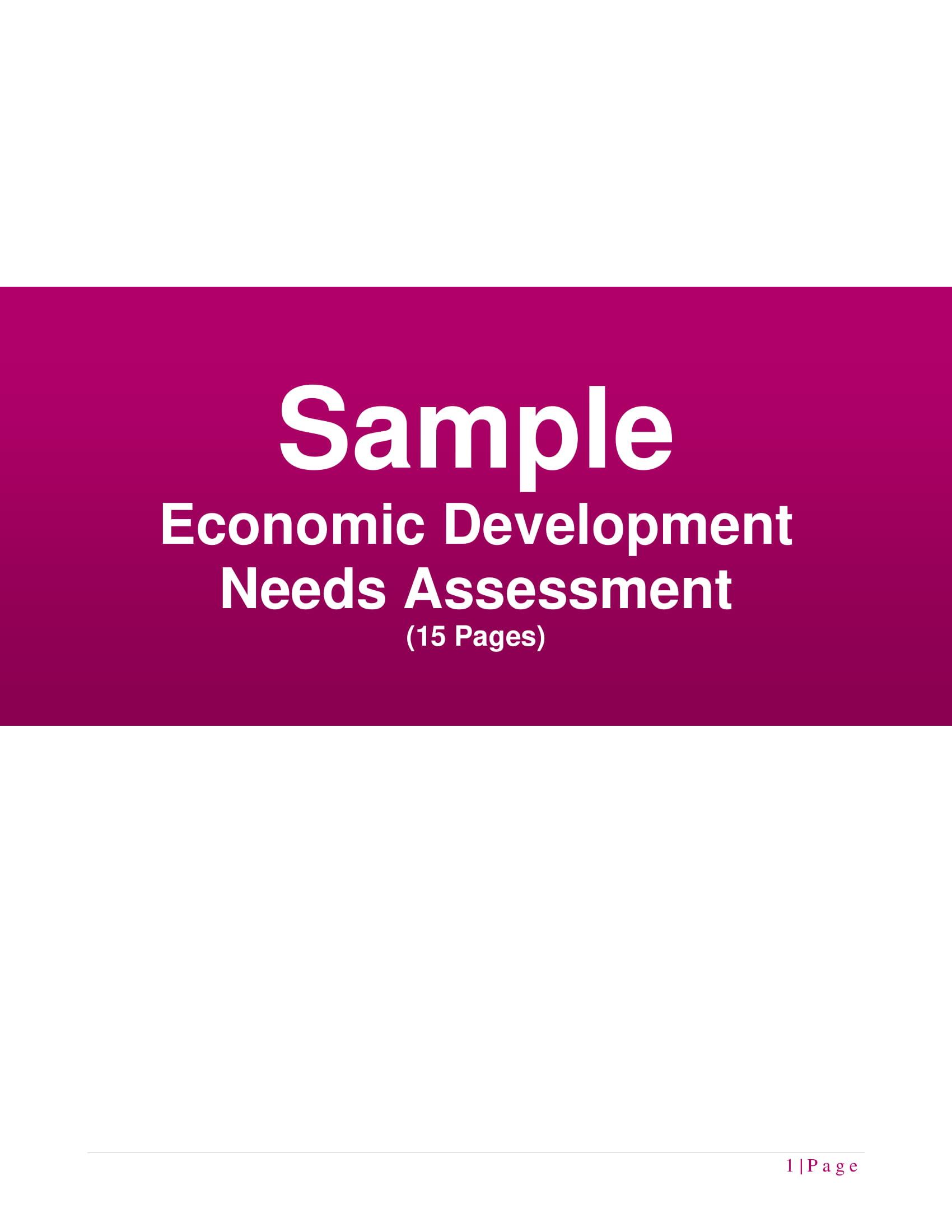 economic development needs assessment example 01