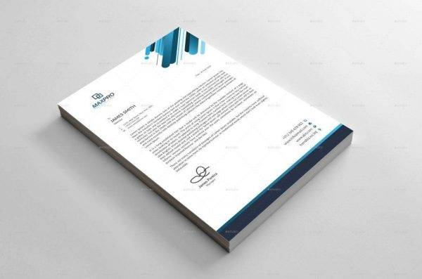 editable formal letterhead example1