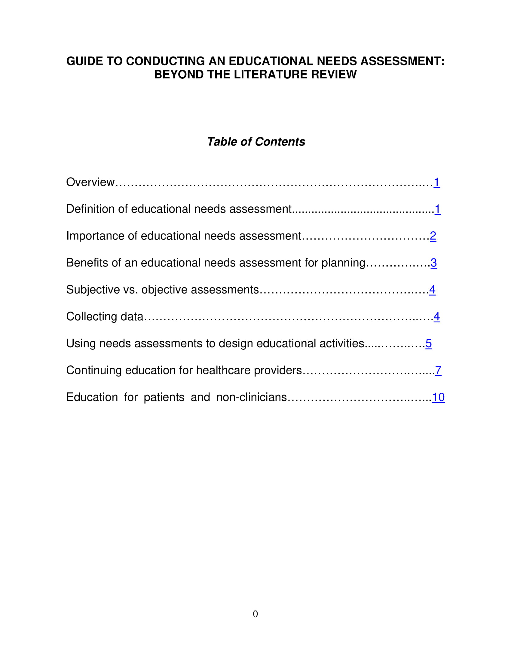 educational needs assessment example 01