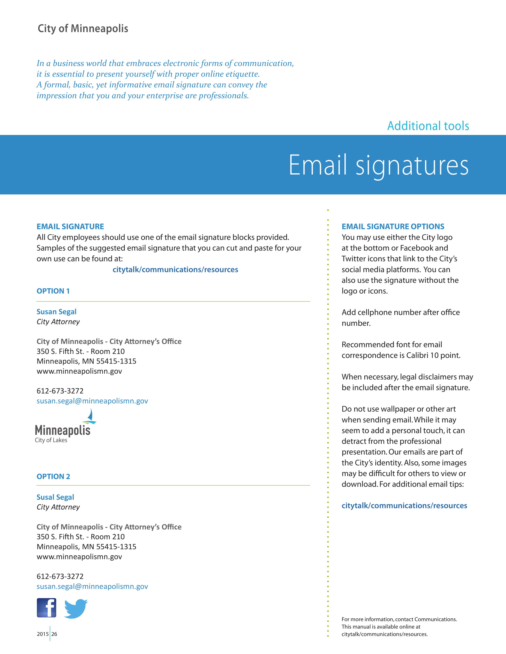 email signature block format example 1
