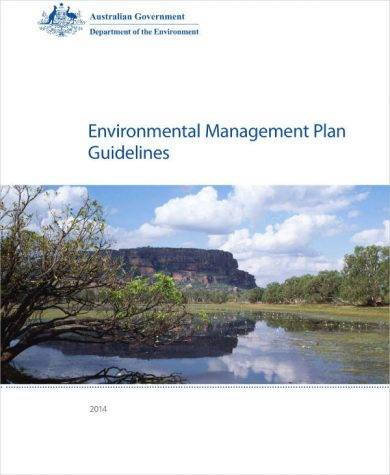 environmental management plan guidelines and examp