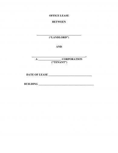 example of a commercial lease agreement1