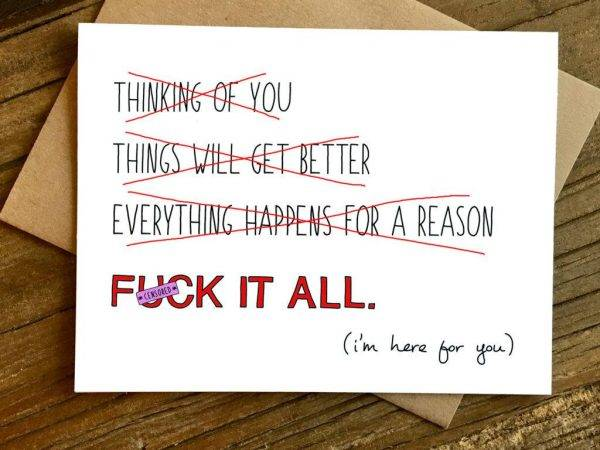 feel better sympathy greeting card example1