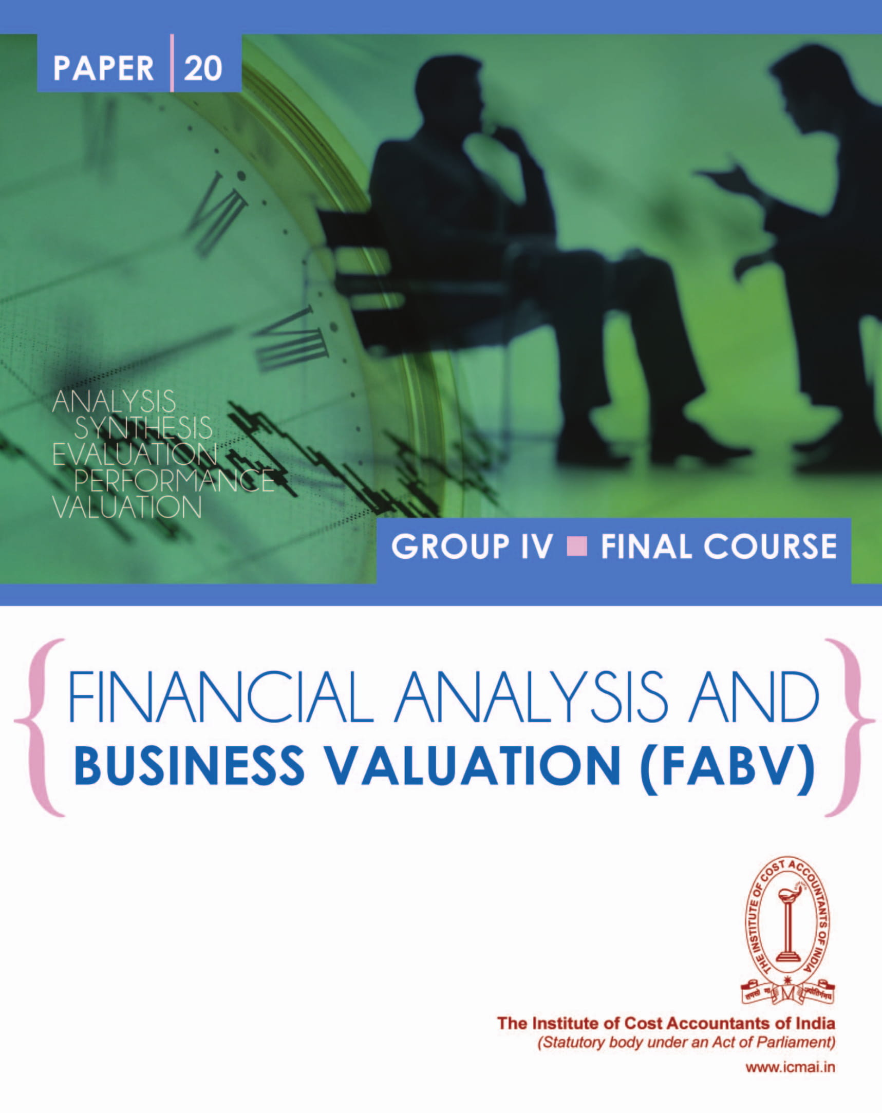 financial health analysis and business valuation example