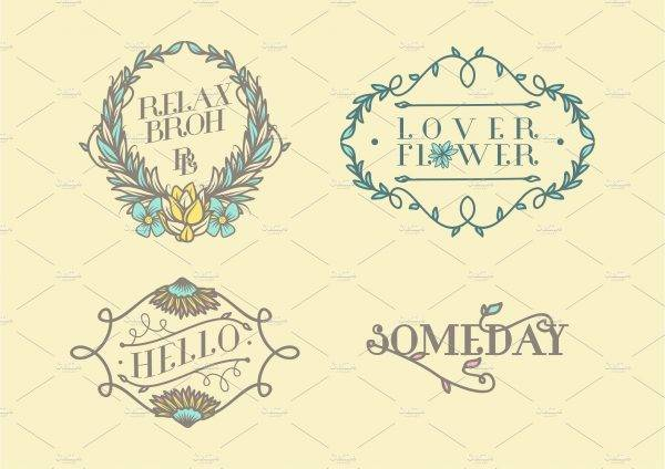 floral element label examples1