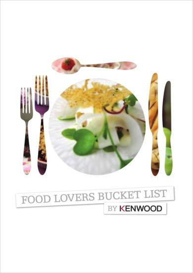 food lovers detailed bucket list example1