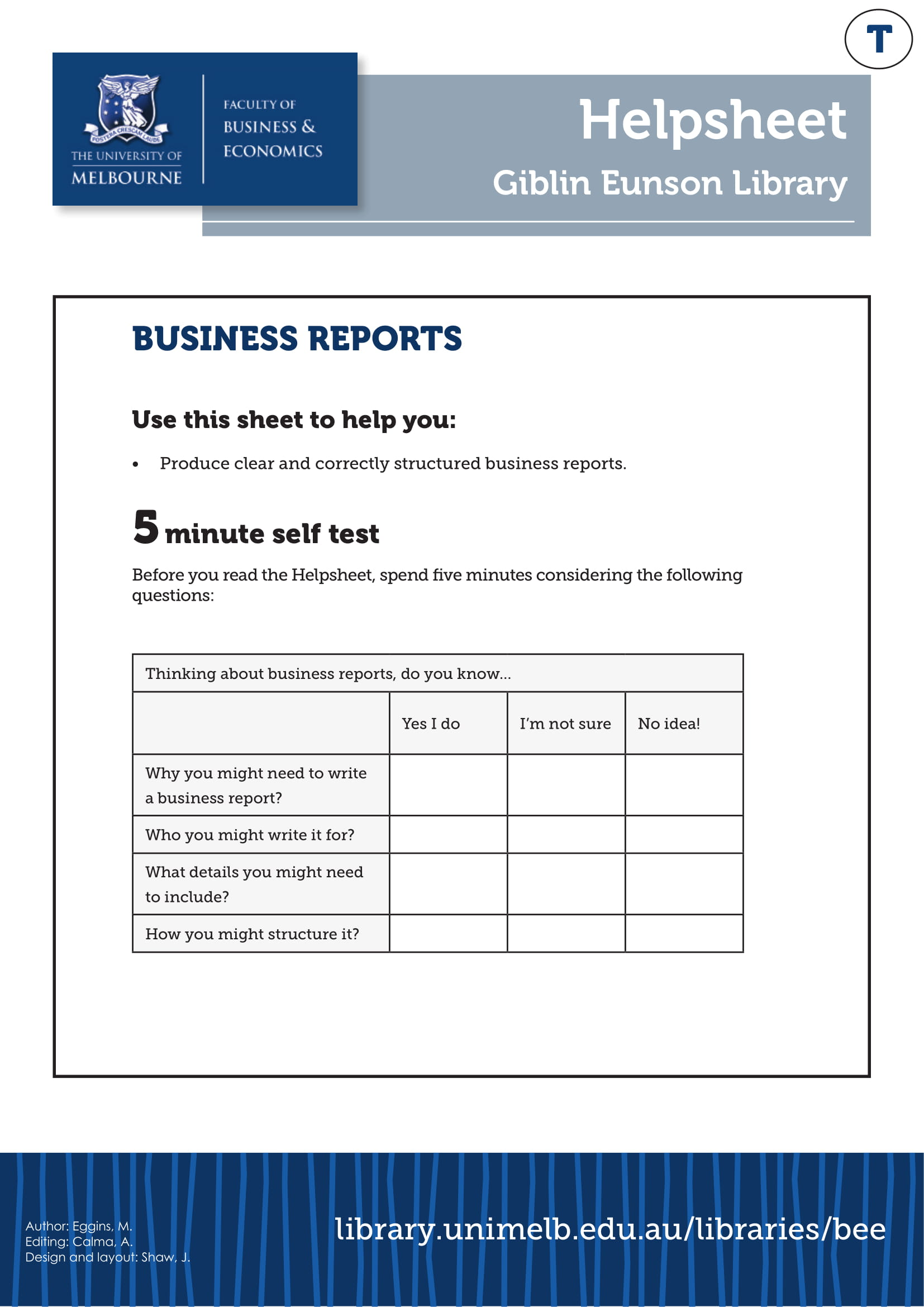 formal business report example in pdf