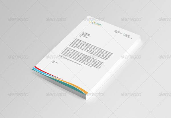 formal corporate letterhead example1