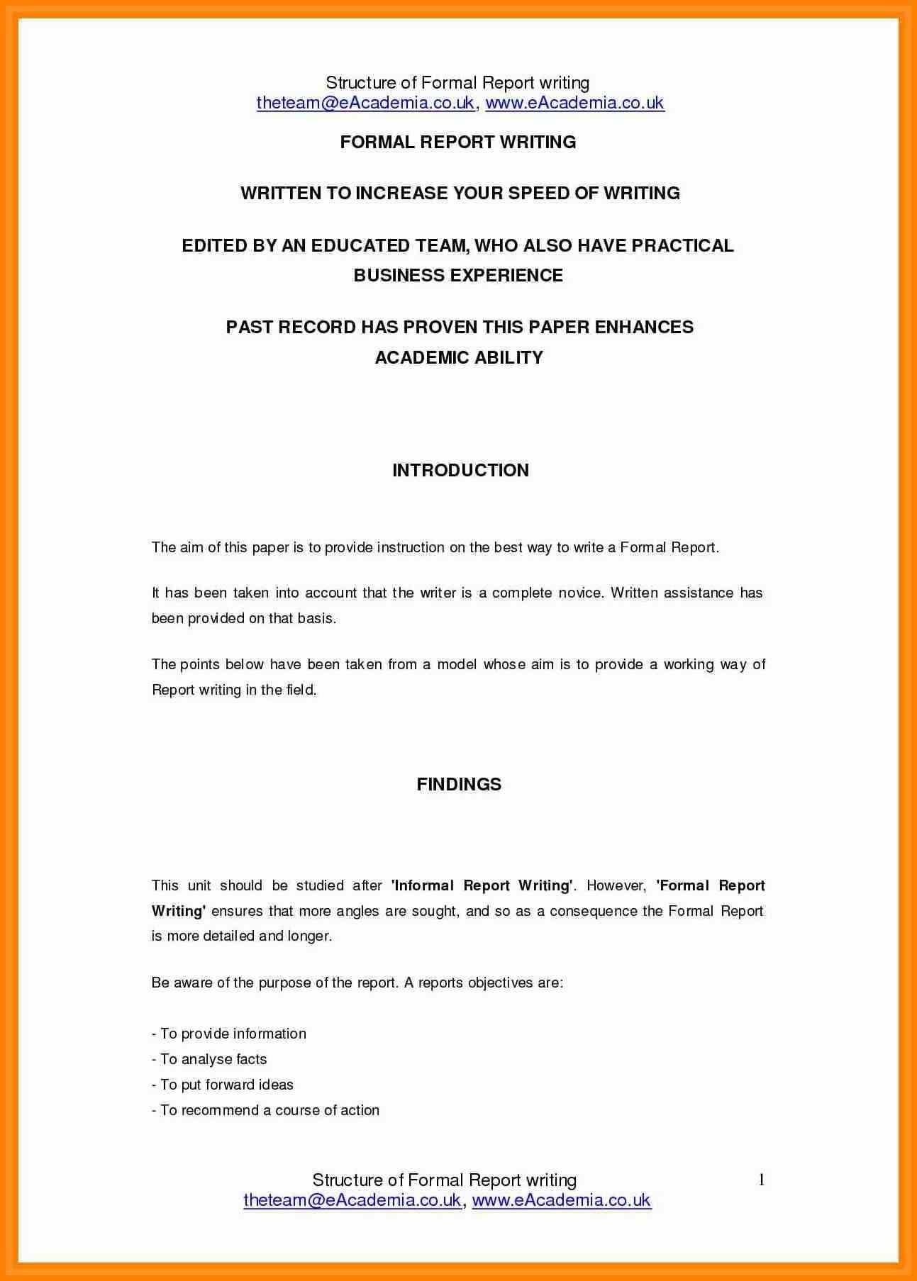 formal report writing1