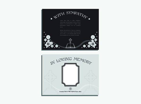 funeral sympathy greeting card example1