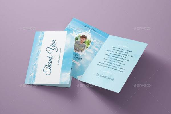 funeral thank you sympathy greeting card example1