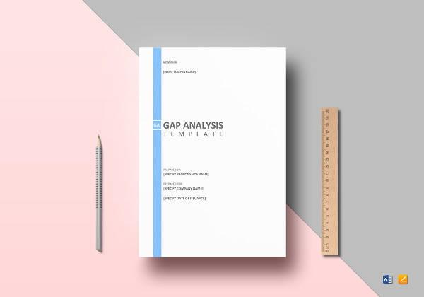 gap analysis example