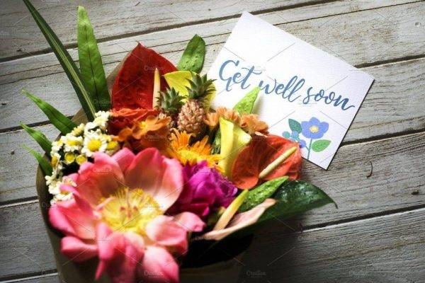 get well sympathy greeting card example1