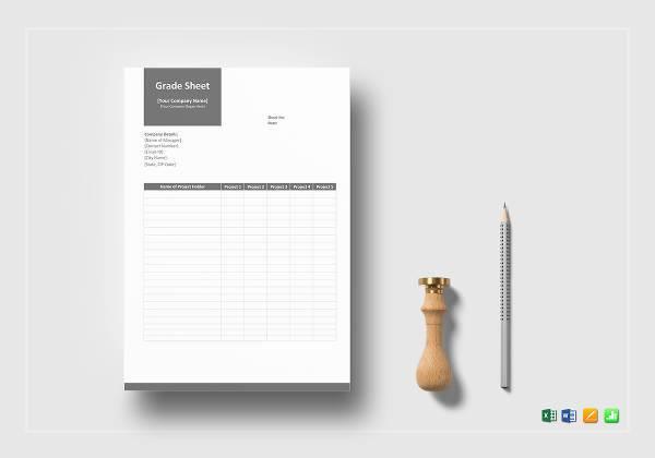 grade sheet example1