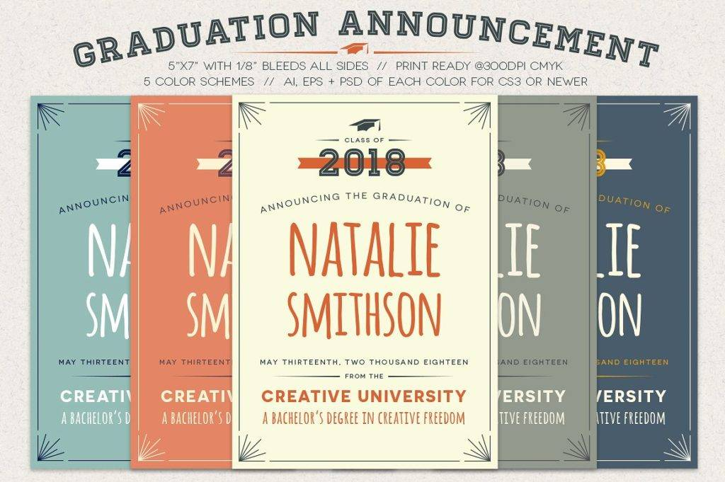 graduation party announcement example