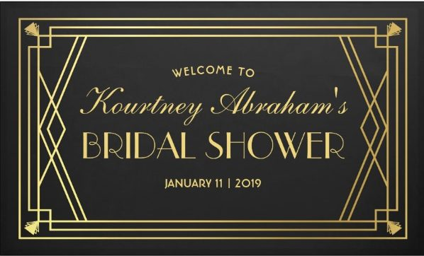 great gatsby bridal shower banner example e1528773625479