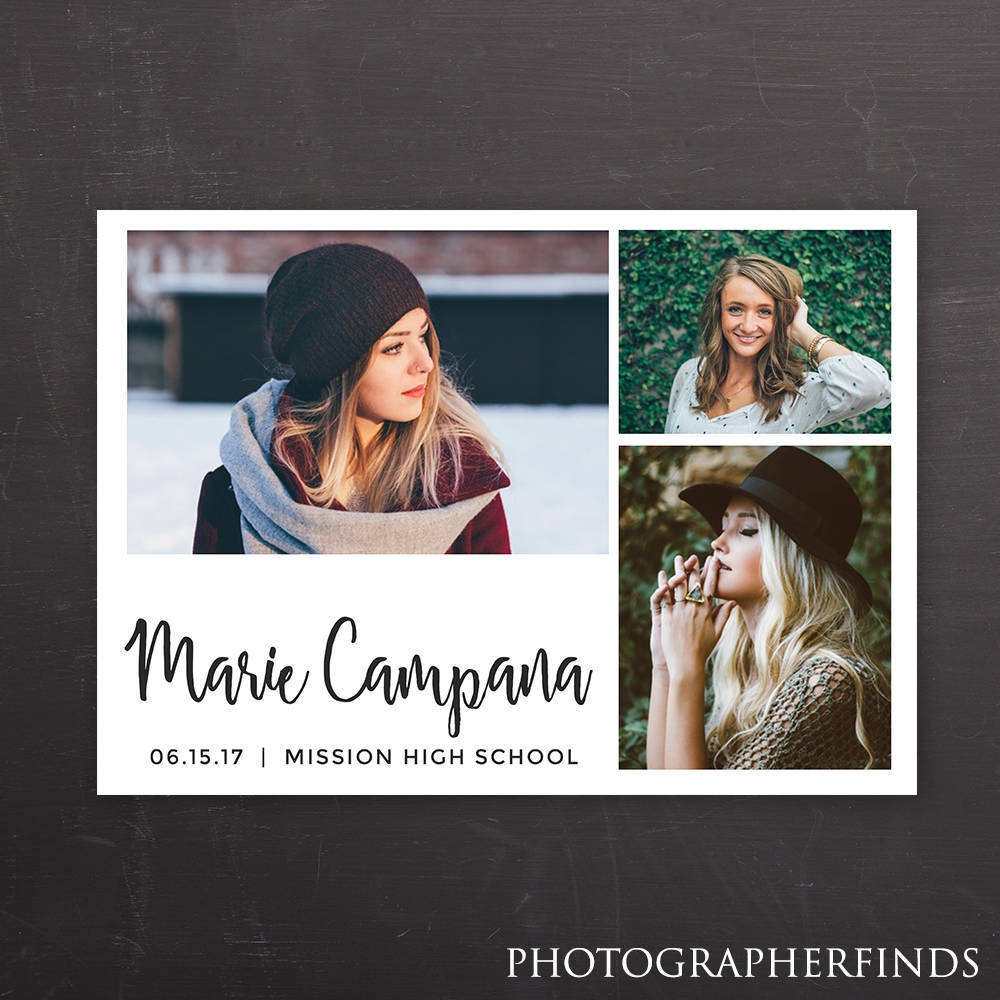 hs graduation announcement card example
