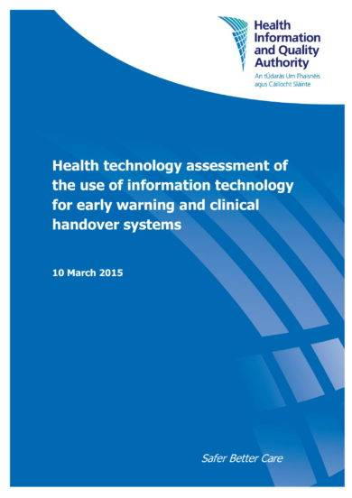 health technology assessment of it example