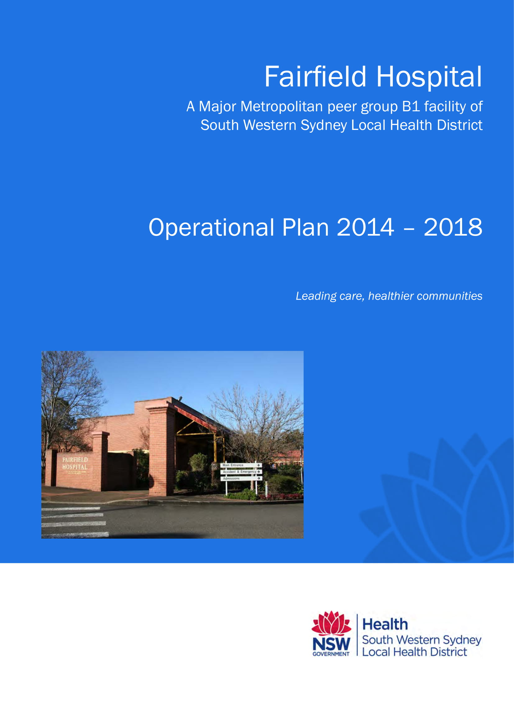 hospital operational plan example 01