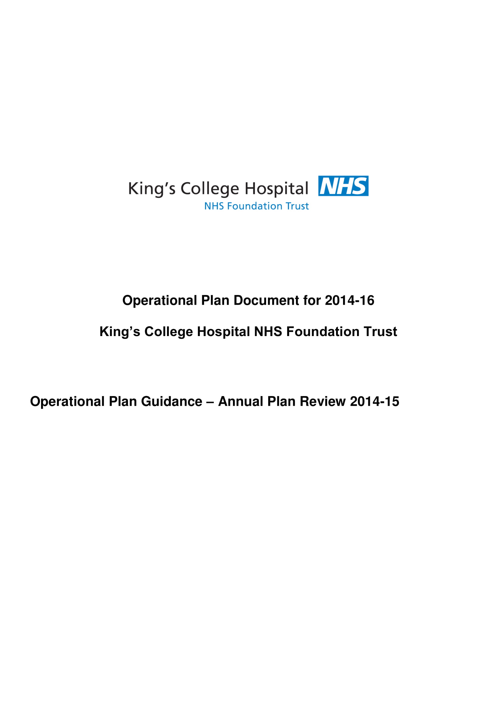 hospital operational plan guidance and annual plan review example 01