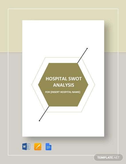 hospital swot analysis example