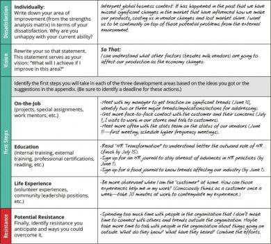 human resource development plan example1