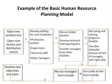 human resource selection model example1