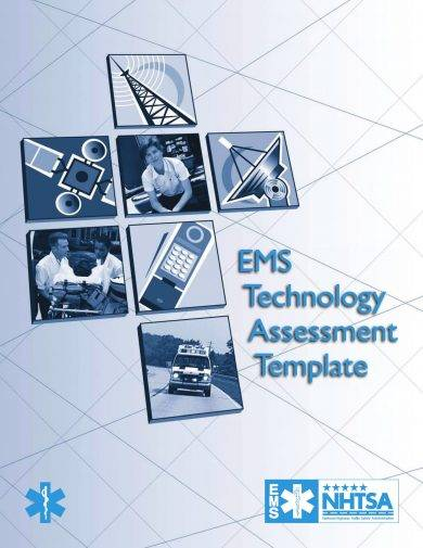 it assessment template example