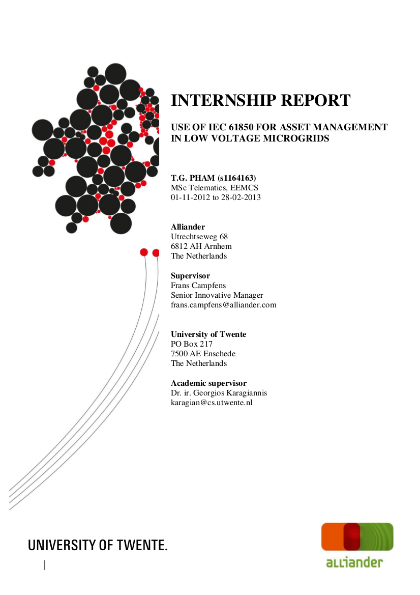 internship report example